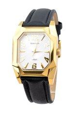 Đồng hồ nam dây da Romanson TL7221MGWH (Đen)