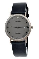 Đồng hồ nam dây da Romanson UL0576NMWGREY (Đen)