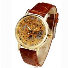Đồng hồ nam dây da SEWOR SE1998 (Nâu)
