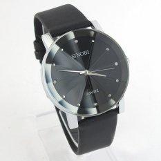 Đồng hồ nam dây da Sinobi SINO1231 (Đen)