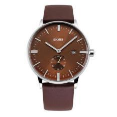 Đồng hồ nam dây da Skm 9083 -Chocolate