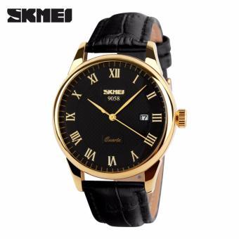 Đồng hồ nam dây da SKMEI S9058