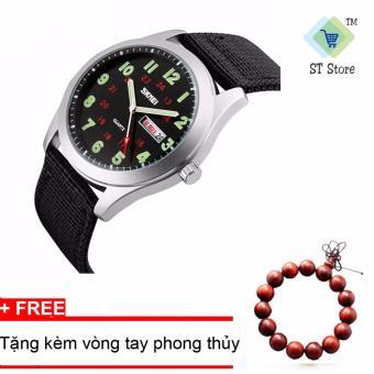 Đồng hồ nam dây da Skmei STT1012 - 2
