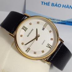 Đồng hồ nam dây da thương hiệu BAISHUNS 8263G