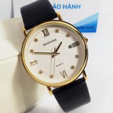 Đồng hồ nam dây da thương hiệu BAISHUNS B107