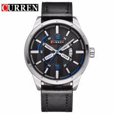 Đồng hồ nam dây da thương hiệu CURREN SKY8211