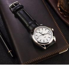 Đồng hồ nam dây da YAZOLE 331 sang trọng