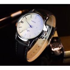 Đồng hồ nam dây da YAZOLE 332 Dây da sang trọng