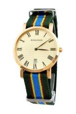 Đồng hồ nam dây dây vải Romanson TL3252UUGGD (Nhiều màu)