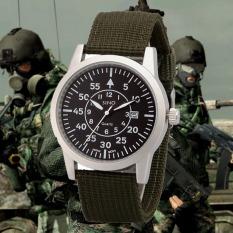 Đồng hồ nam dây dù lính SINO JAPAN MOVT SN002 (Xanh).