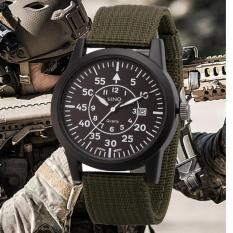 Đồng hồ nam dây dù lính SINO JAPAN MOVT SN004 (Xanh).