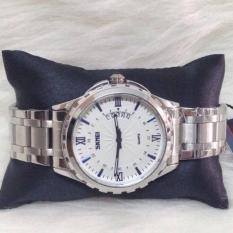 Đồng hồ nam dây hợp kim chống gỉ SKMEI 9069 (Trắng)