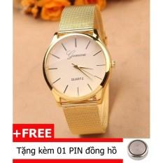 Đồng hồ nam dây hợp kim Geneva TI1001