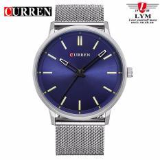 Đồng hồ nam dây hợp kim thép Curren 8233 (MẶT XANH)