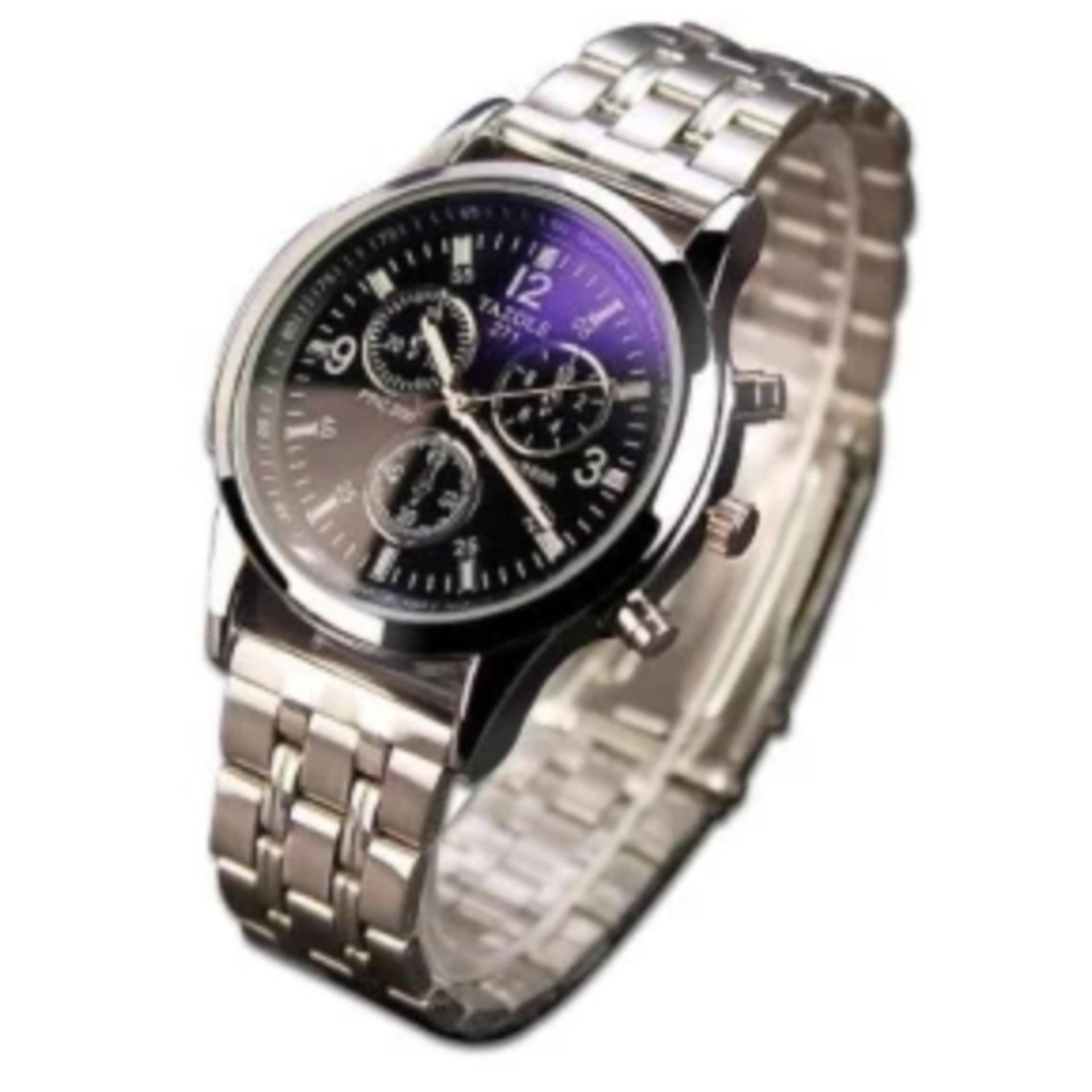 So Sánh Giá Đồng hồ nam dây inox không gỉ YZL 271 (Bạc)