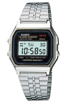 Đồng hồ nam dây kim loại Casio A159W-N1DF (Bạc)