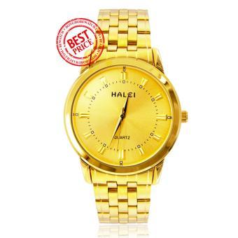 Đồng hồ nam dây kim loại Halei HA18951-15NA (Vàng)