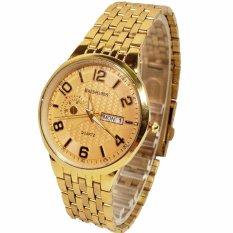 Đồng hồ nam dây kim loại mạ vàng cao cấp BAISHUNS B9928