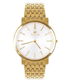Đồng hồ nam dây kim loại Neos N-40577M mạ vàng