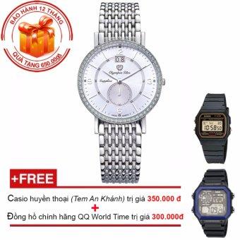 Đồng hồ nam dây kim loại Olympia Star OPA58012-04DMS-T + Tặng 2 đồng hồ (casio huyền thoại + QQ World Time) - 8663291 , OL556OTAA3DI04VNAMZ-5929592 , 224_OL556OTAA3DI04VNAMZ-5929592 , 5370000 , Dong-ho-nam-day-kim-loai-Olympia-Star-OPA58012-04DMS-T-Tang-2-dong-ho-casio-huyen-thoai-QQ-World-Time-224_OL556OTAA3DI04VNAMZ-5929592 , lazada.vn , Đồng hồ nam dây ki