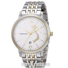 Đồng hồ nam dây kim loại Romanson limited edition TM4259SMCWH (Mặt Trắng)