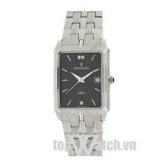 Đồng hồ nam dây kim loại ROMANSON TM8154CMWBK (Mặt Đen)