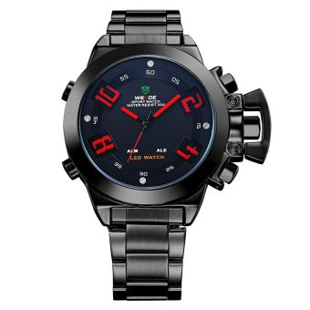 Đồng hồ nam dây kim loại Weide WH1008B-2C (Đen)  Time seller (Tp.HCM)