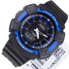 Đồng hồ nam dây nhựa Casio AD-S800WH-2A2VDF (Đen)