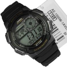Đồng hồ nam dây nhựa Casio AE-1000W-1AVDF (Đen)