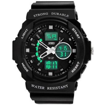 Đồng hồ nam dây nhựa Skmei P-SK039 (Đen)