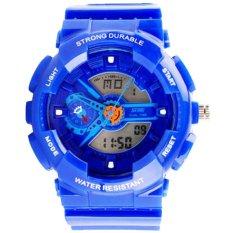 Đồng hồ nam dây nhựa SKMEI Sport Watch 0929 (Xanh dương)