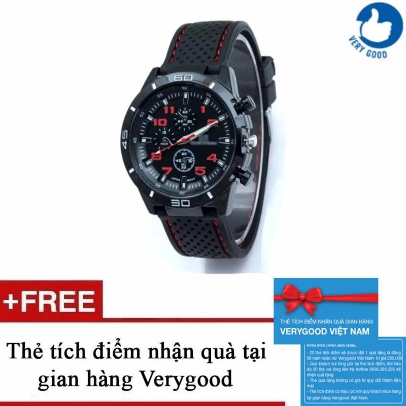Nơi bán Đồng hồ nam dây silicon GT Sport watch TP001 + Tặng kèm 1 thẻ tích điểm nhận quà tại gian hàng Verygood
