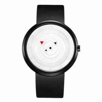 Đánh Giá Đồng hồ nam dây silicone Geneva BR002-2 (Đen mặt trắng)