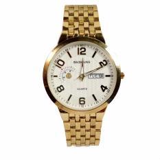Đồng hồ nam dây thép BAISHUNS ( Mặt trắng )