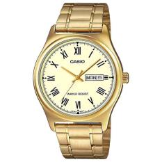 Đồng hồ nam dây thép Casio MTP-V006G-9BUDF (Vàng)