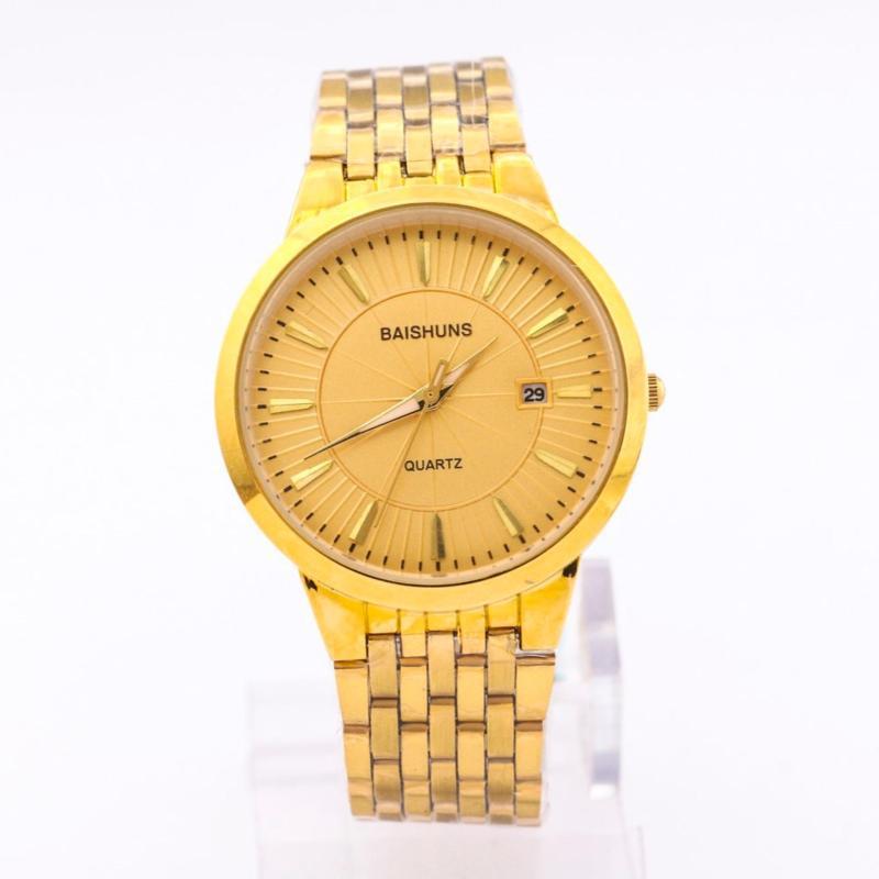 Nơi bán Đồng hồ nam dây inox cao cấp BAISHUNS BA99