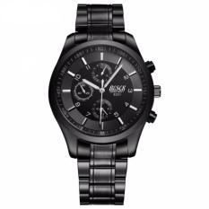 Giá Đồng hồ nam dây thép đen cao cấp BOSCK 8251