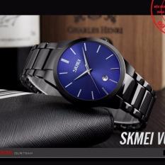 Đồng hồ nam dây thép đen cao cấp thương hiệu SKMEI 9140