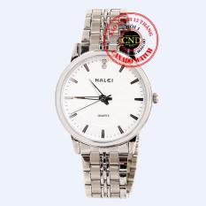 Đồng hồ nam dây thép Halei HL3604 Mặt Kính Saphia Chống Xước Chống Nước