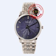 Đồng hồ nam dây thép Halei HL3608 Mặt Kính Saphia Chống Xước Chống Nước
