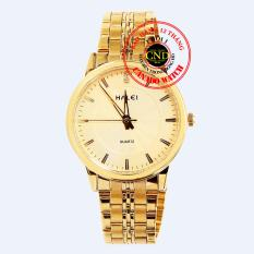 Đồng hồ nam dây thép Halei HL3611 Mặt Kính Saphia Chống Xước Chống Nước