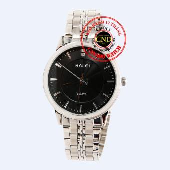 Nơi Bán Đồng hồ nam dây thép Halei HL3613 Mặt Kính Saphia Chống Xước Chống Nước