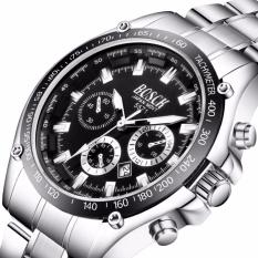 Đồng hồ nam dây thép không gỉ Bosck Japan 1010 có lịch ngày(Cập nhật 2019)