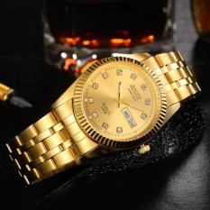 Đồng hồ nam dây thép không gỉ Bosck Japan H3012