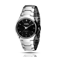 Đồng hồ nam dây thép không gỉ cao cấp Nary 2561 (Đen)