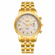 Đồng hồ nam dây thép không gỉ cao cấp SINO Japan 8281 (Mặt trắng)