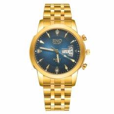 Đồng hồ nam dây thép không gỉ cao cấp SINO Japan 8281 (Mặt xanh)