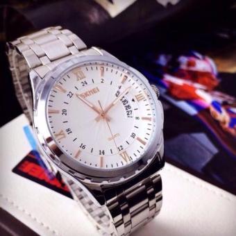 Đồng hồ nam dây thép không gỉ cao cấp SKMEI SK9069 (Vàng)