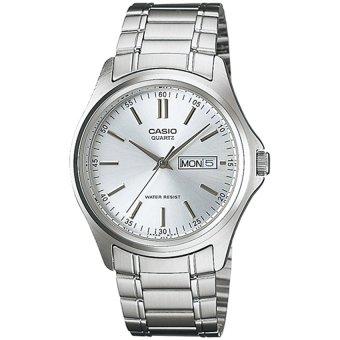 Đồng hồ nam dây thép không gỉ Casio MTP-1239D-7ADF (Bạc)