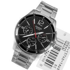 Đồng hồ nam dây thép không gỉ Casio MTP-1374D-1AVDF